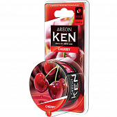 704-AKB-02 Ароматизатор Areon  GEL KEN BLISTER Cherry  (Вишня) (банка) (12/144шт)